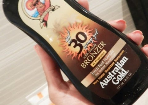 Australian Gold SPF30 Spray Gel 237ml - comprar online