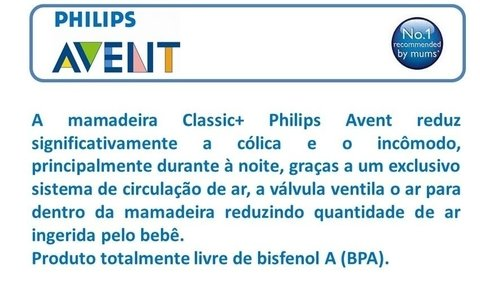 Kit de Mamadeiras Philips Avent Classic 1m+ Its a Boy na internet