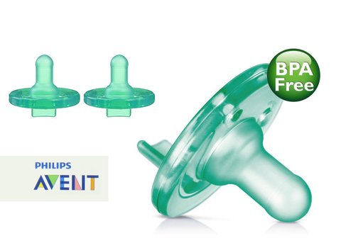 CHUPETA CALMANTE PHILIPS AVENT SOOTHIE VERDE 0/3 MESES na internet