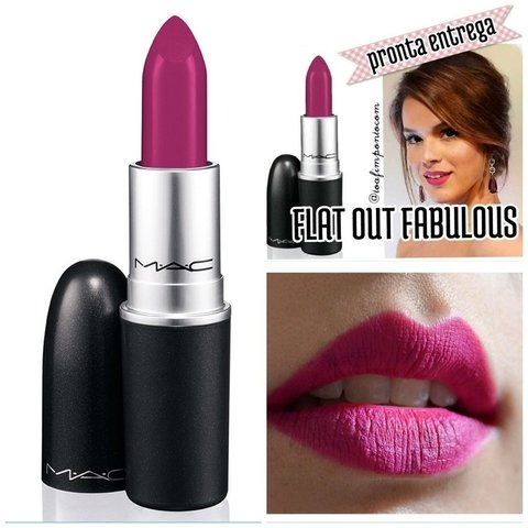 MAC - Flat Out Fabulous - Retro Matte na internet