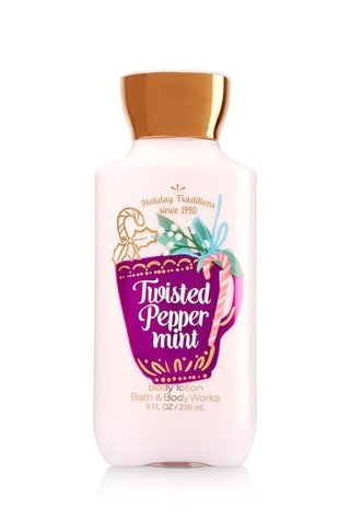 Creme Corporal Bath & Body Works - Twisted Pepper Mint - 236ml - comprar online
