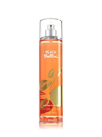 Body Splash - Bath and Body Works - PEACH BELLINI - 236ml - comprar online