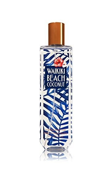 Body Splash - Bath and Body Works - Waikiki Beach Coconut - 236ml - comprar online
