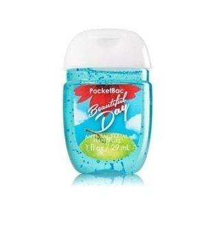 Álcool em gel Pocketbac Beautiful Day Bath & Body Works 29ml