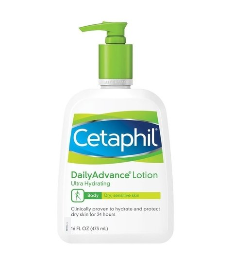 CETAPHIL DAILY ADVANCE LOTION CREME HIDRATANTE PARA O CORPO - 473Ml