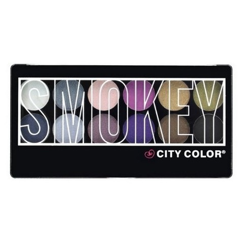 Paleta de Sombras - City Color Smokey - comprar online