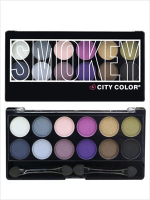 Paleta de Sombras - City Color Smokey