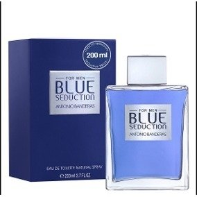 BLUE SEDUCTION FOR MEN ANTONIO BANDEIRAS MASC EDT 200ML