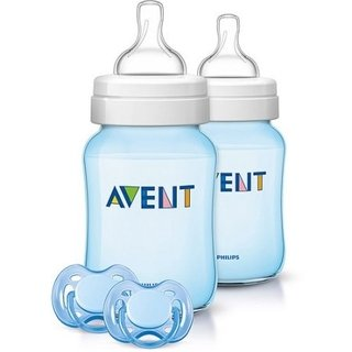 Kit de Mamadeiras Philips Avent Classic 1m+ Its a Boy