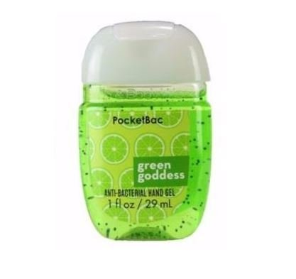 Álcool em gel Pocketbac Green Goddess Bath & Body Works 29ml