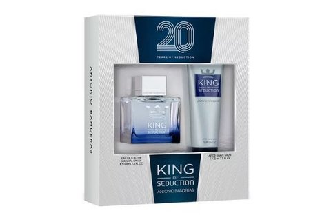 Kit de Perfume King of Seduction Antonio Banderas 100ml + Pós Barba 75ml