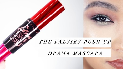 MAYBELLINE THE FALSIES PUSH UP DRAMA COR: 304 black - LuckEnjoy