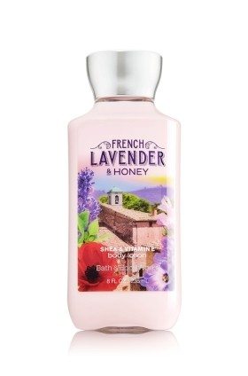 Creme Corporal Bath & Body Works - Fresh Lavander & Honey - 236ml - comprar online