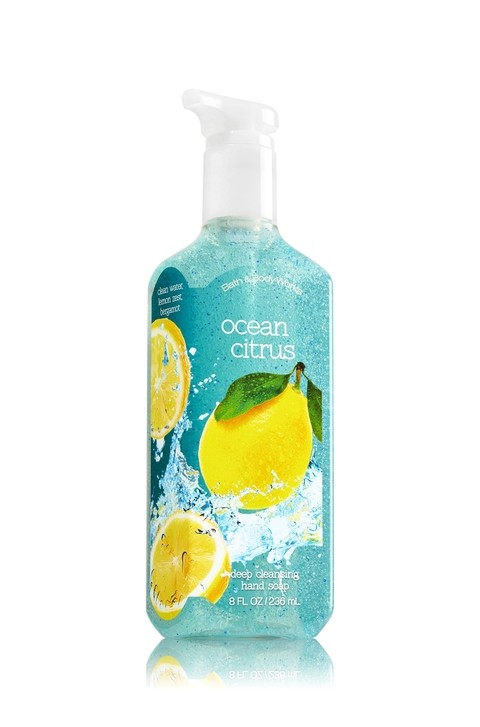 Hand Soap de limpeza profunda - Bath and Body Works - Ocen Citrus - 236ml