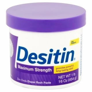 Pomada Desitin Maximum Streght Roxa 454g Assadura pote
