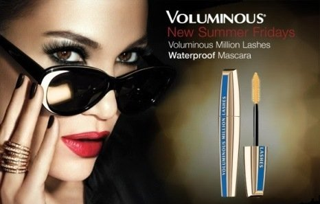 Loreal Mascara Voluminous Million Lashes Waterpoof/A Prova d'água 670 Black/Preto na internet
