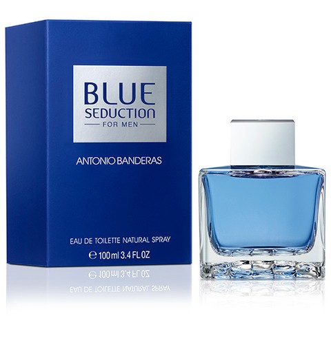 BLUE SEDUCTION FOR MEN ANTONIO BANDEIRAS MASC EDT 100ML