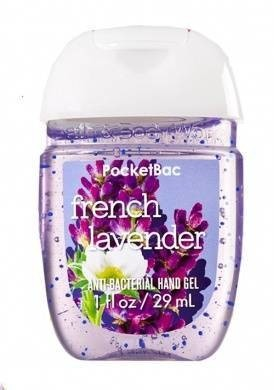 ÁLCOOL EM GEL - FRENCH LAVENDER - BATH AND BODY WORKS - 29ML - comprar online