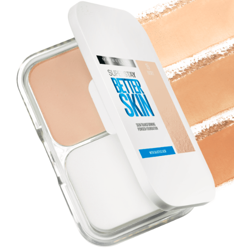 Imagem do Pó compacto Maybelline Superstay Better Skin Cor: 30 Warm Nude