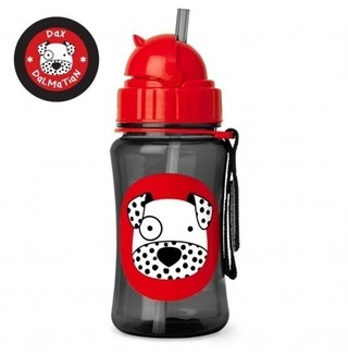 Garrafinha Zoo Straw Bottle Skip Hop (Dax Dalmatian) 350ml