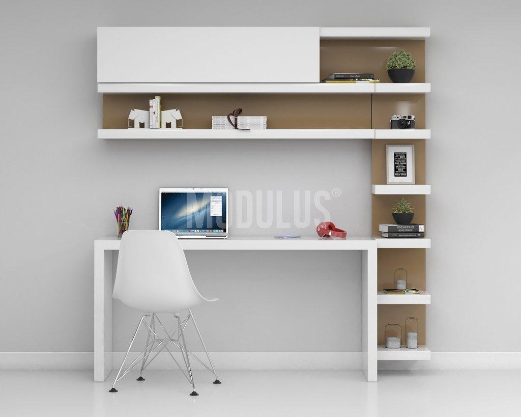 Composicion escritorio 03 comprar en modulus for Muebles de oficina modernos argentina