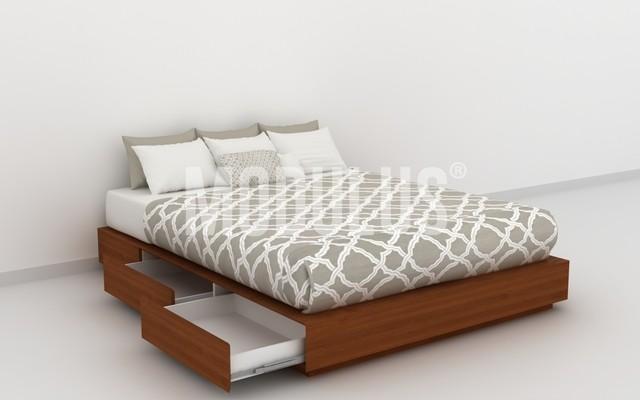 cama tarima con cajones