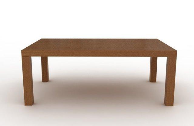 Mesa mies rectangular madera comprar en modulus - Mesa rectangular ...