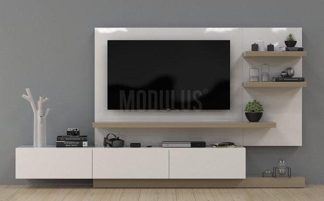 Mueble para tv living muebles modernos for Muebles modulares modernos para tv