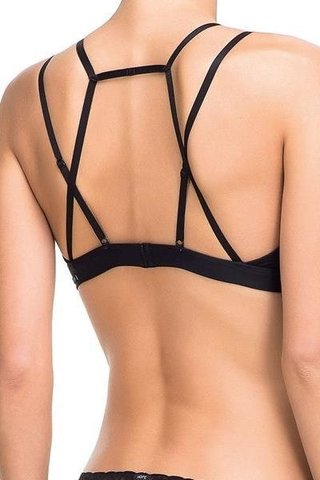 TOP STRAPPY PRETO 21960 - HOPE