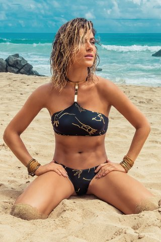 BIQUÍNI ELOA CROPPED CHOKER 737137 - New Beach