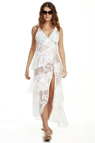 vestido longa rendado off white orquidea 847401 new beach