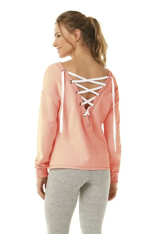 BLUSA MOLETOM ENJOY 712903  - Alto Giro