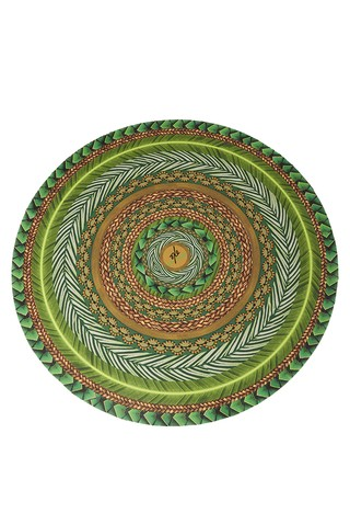 Canga Redonda Round Towel  Leaf -  739930 New Beach