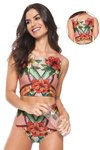 biquini cropped hot pant florido susane 14235 agua doce on internet