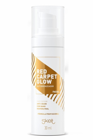 sérum autobronzeador facial anti-idade 30ml - skelt
