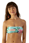 top bandeau estampado hibiscos levemente 111238 blueman on internet