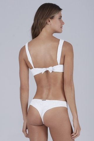 biquini reto rendado off white valentina 937131 new beach