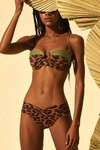 biquini animal print hype beachwear