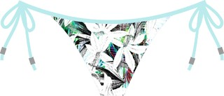 Biquini Viviane Cropped 8587 De Chelles Acqua on internet