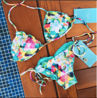 Biquini Flora 312 - Ellis Beach Wear