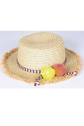 chapeu com pompom 109416 new beach