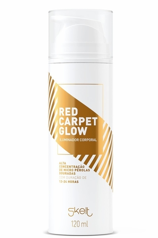 iluminador corporal red carpet glow 120ml - skelt