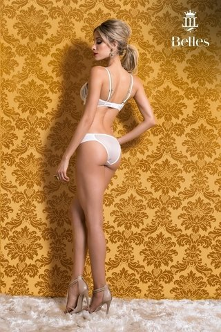 Sutiã Existência Off White 9185 - Belles Lingerie on internet