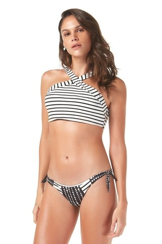 Cropped listrado Maisa 777139 - New Beach