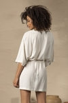 kaftan curto off white rustic 44910 live - comprar online