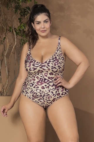 maio plus size animal print leopard 44865 live