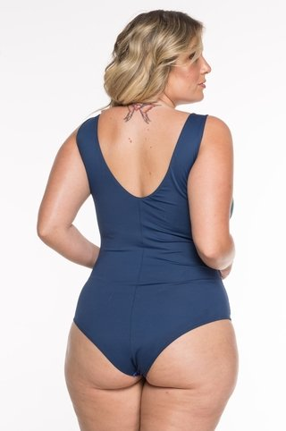 body plus size estampa localizada azul 6070 maryssil