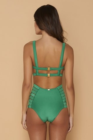 maio strappy cut out verde bandeira sol 945 mos