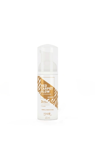 mini autobronzeador em mousse red carpet glow 45ml