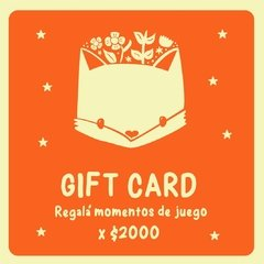 Gift Card - Te robaré un color